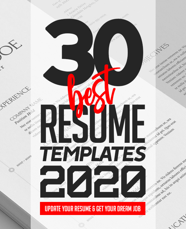 best resume templates for 2020