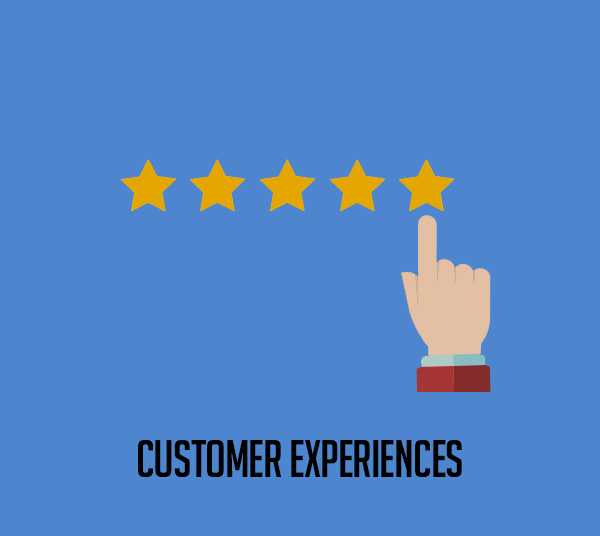 Customer experiences