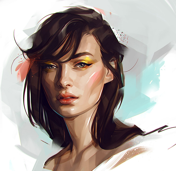 Amazing Illustration Portraits by Russian Artist Viktor Miller-Gausa