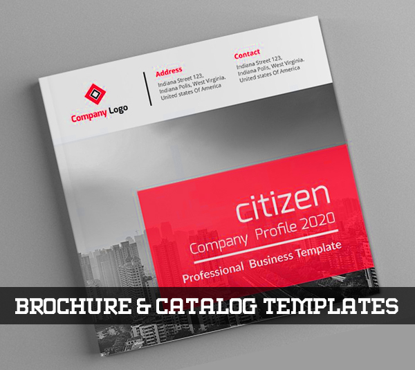22 New Professional Brochure and Catalog Templates for Inspiration