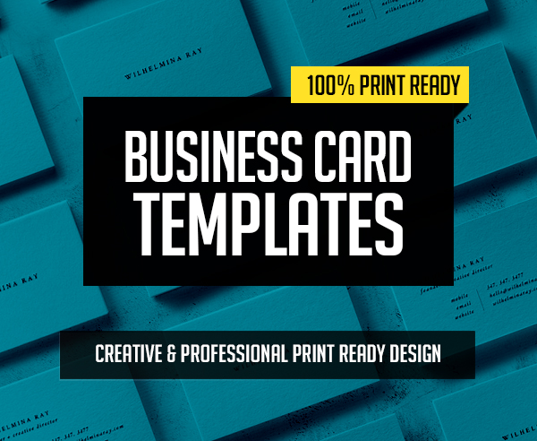 New Creative Business Card Templates – 29 Print Design
