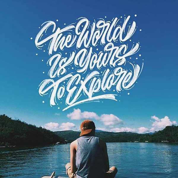 Remarkable Lettering and Typography Designs for Inspiration - 39