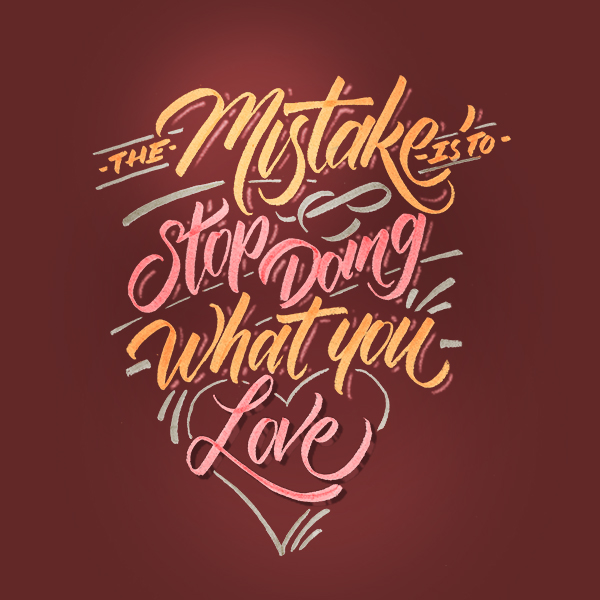 Remarkable Lettering and Typography Designs for Inspiration - 42