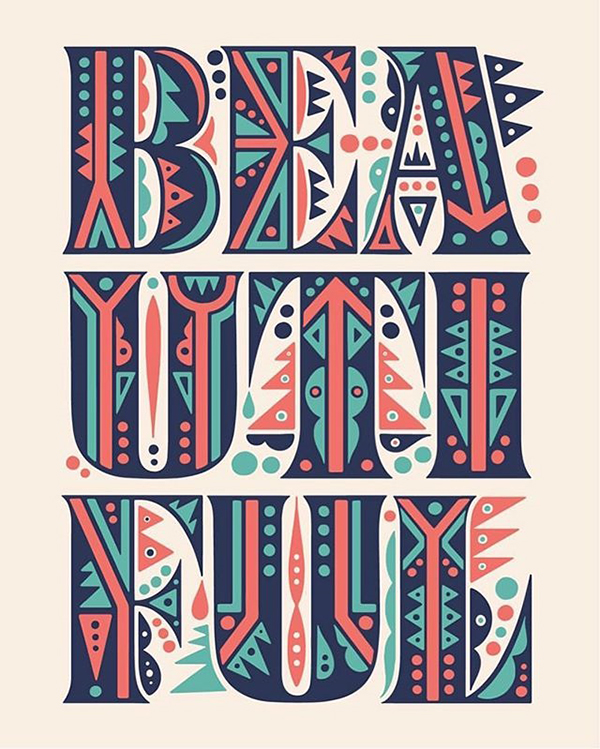 Remarkable Lettering and Typography Designs for Inspiration - 43