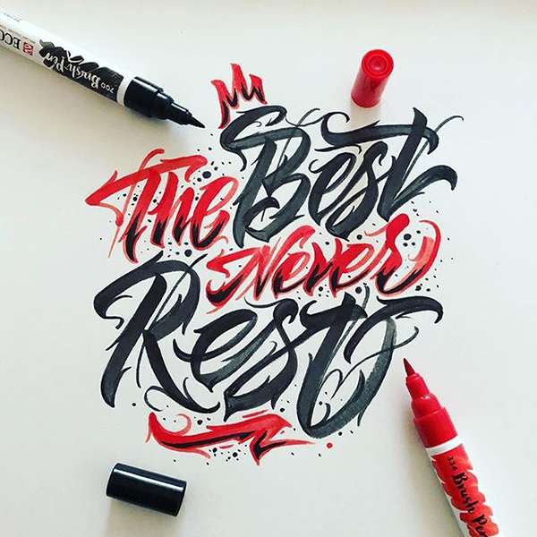 Remarkable Lettering and Typography Designs for Inspiration - 8