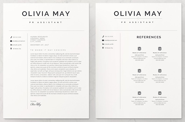 Perfect Resume Template / CV