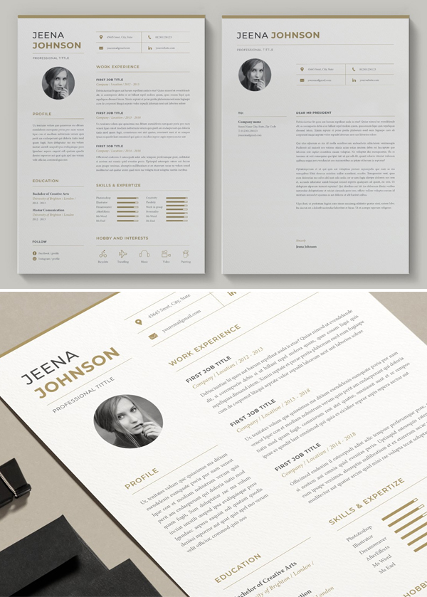 Simple Word Resume Template