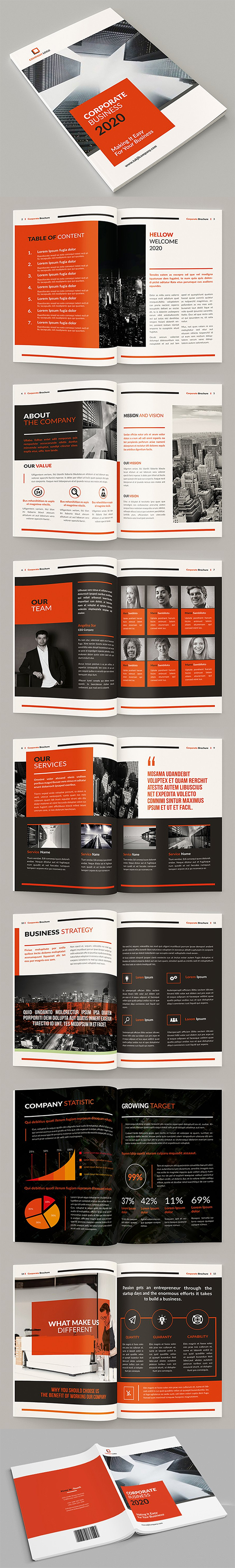 Samawa - A4 Business Brochure Template