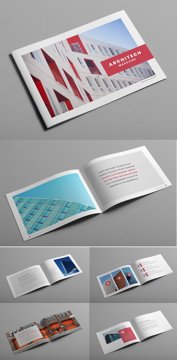 Architecture Creative Magazine Brcohure template