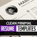 Post Thumbnail of Creative Minimal Resume Templates for Graphic Designers