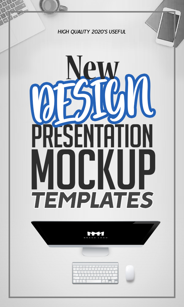 Design Presentation Mockup Templates