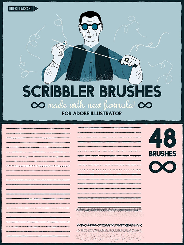 Scribbler Brushes for AI
