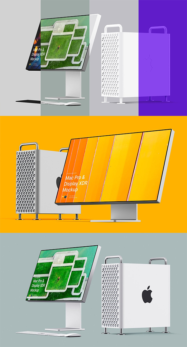 Apple Mac Pro & Display XDR Mockups