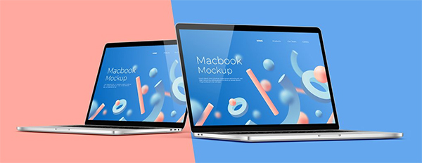 Creative Macbook Mockup Creator