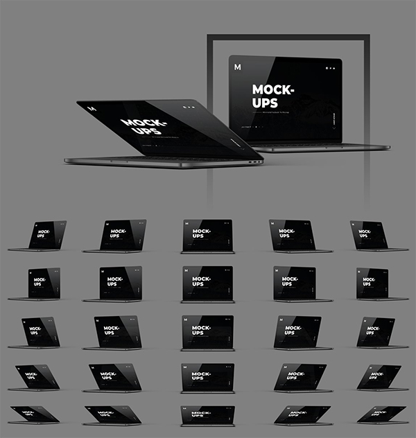 Macbook Mockup Packs