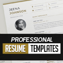 Post thumbnail of New Professional CV / Resume Templates with Cover Letters