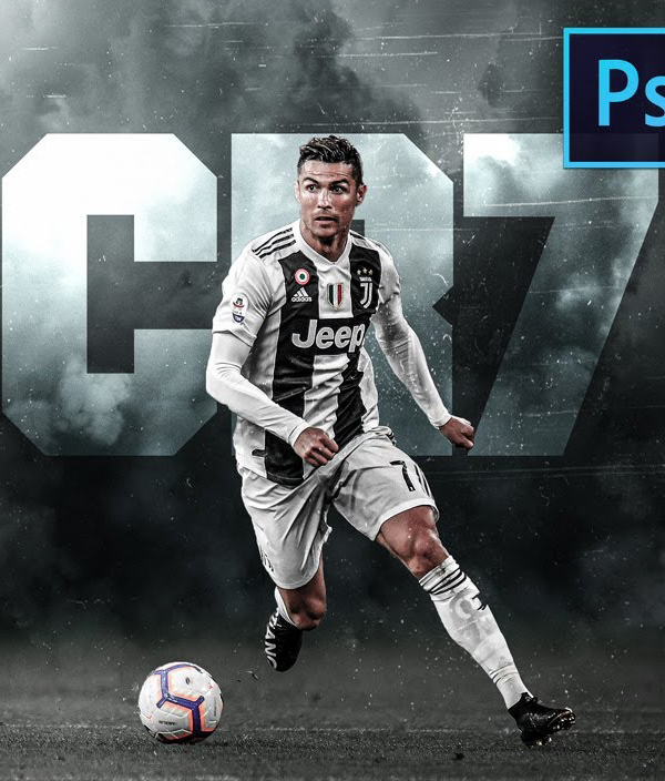 How to Make Professional Football Poster in Photoshop Tutorial