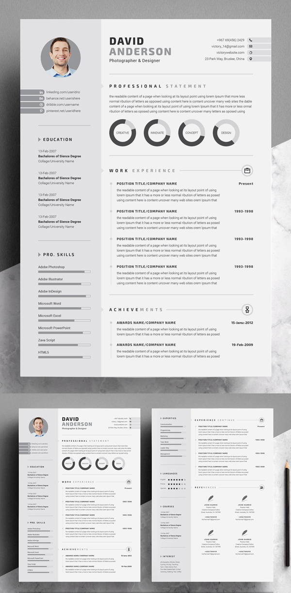 Best Creative Resume / CV