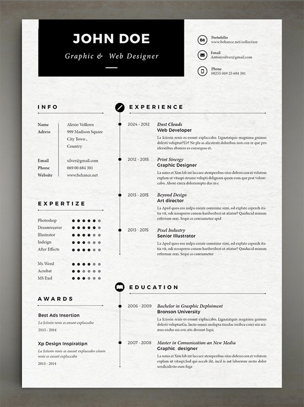 Best Simple Resume