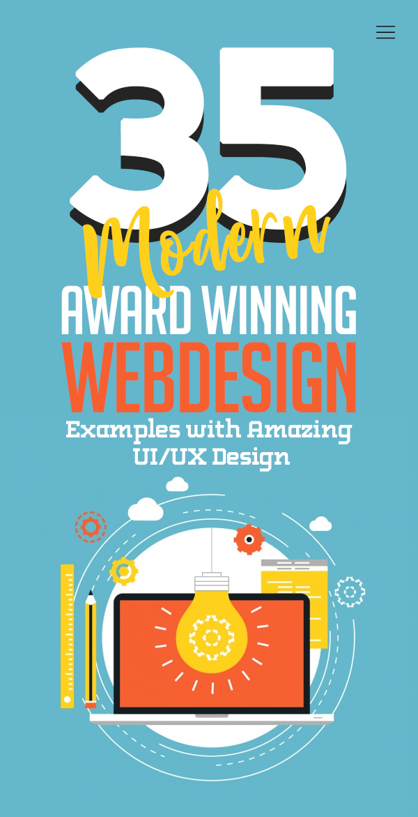 Web Design: 35 Modern Website Designs with Amazing UIUX