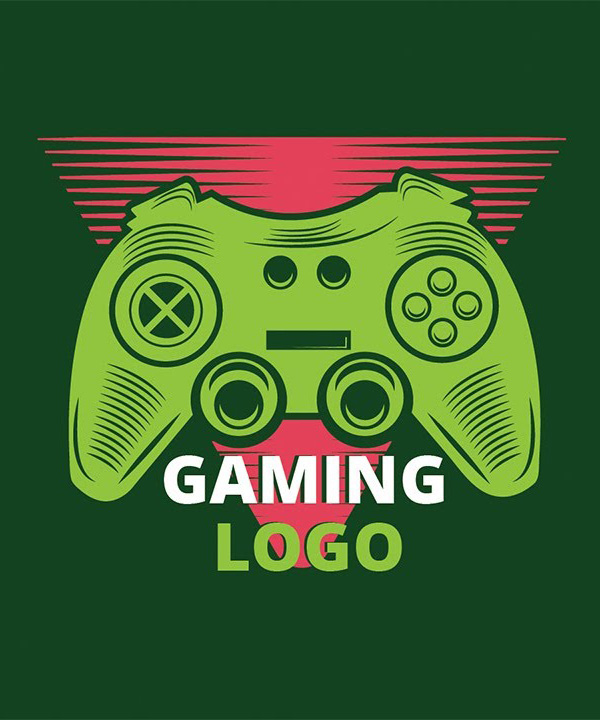 How to create a gaming LOGO in Illustrator tutorial