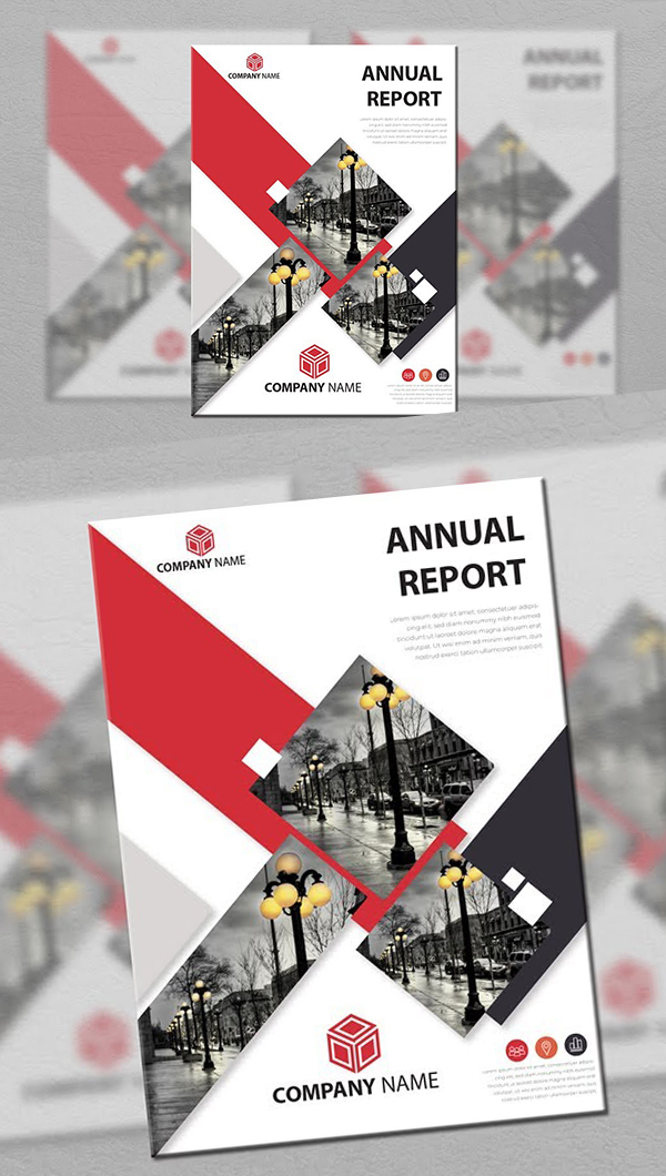 Design the Illustrator tutorial for the annual report