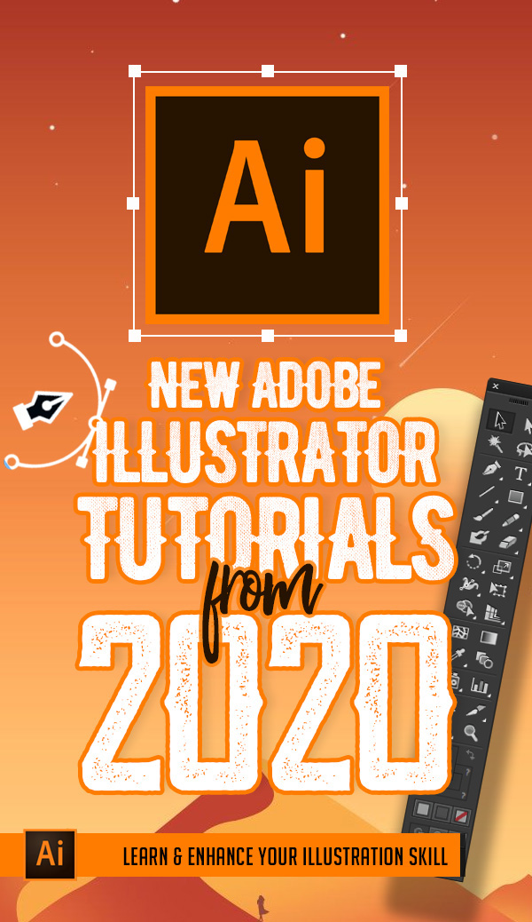 Illustrator Tutorials: 33 New Adobe Illustrator Tuts Learn Drawing and Illustration