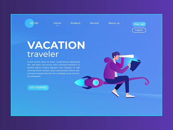 50 Modern Landing Page Design Concepts - 10