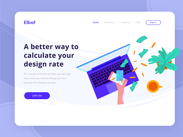 50 Modern Landing Page Design Concepts - 16