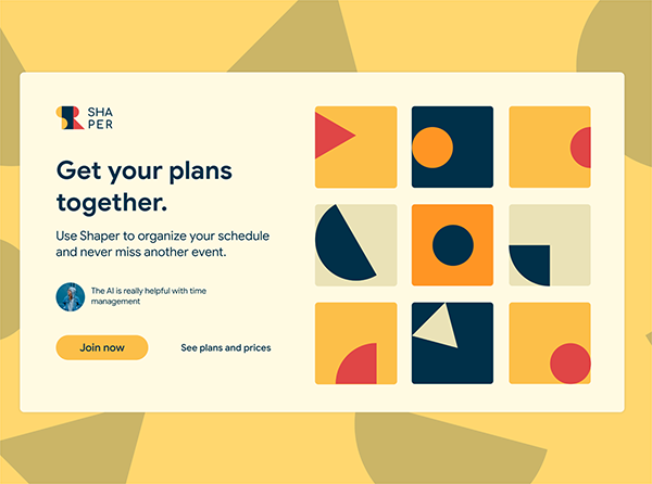 50 Modern Landing Page Design Concepts - 17