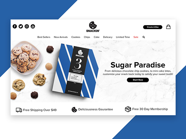 50 Modern Landing Page Design Concepts - 2