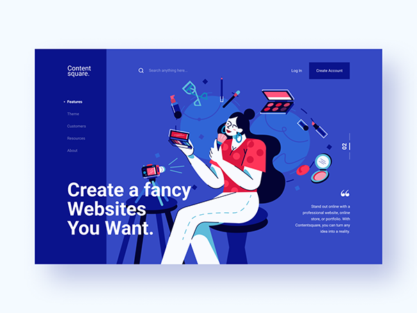 50 Modern Landing Page Design Concepts - 21