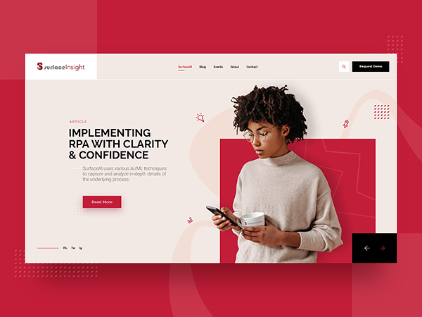 50 Modern Landing Page Design Concepts - 24