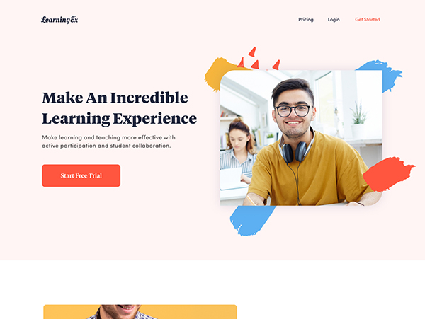 50 Modern Landing Page Design Concepts - 26