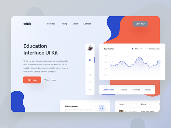 50 Modern Landing Page Design Concepts - 27