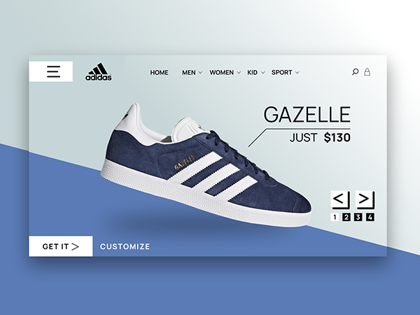 50 Modern Landing Page Design Concepts - 33