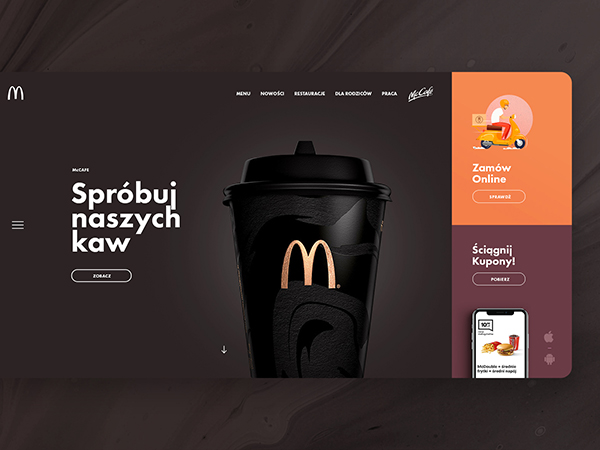 50 Modern Landing Page Design Concepts - 37
