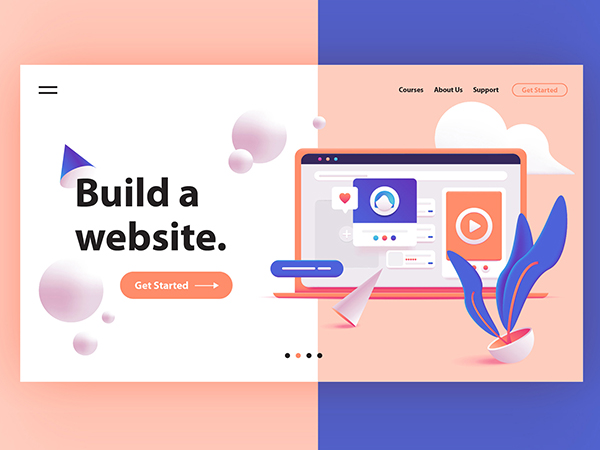 50 Modern Landing Page Design Concepts - 42