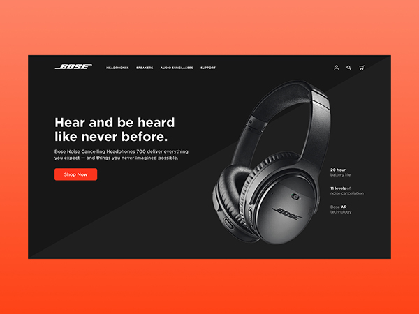 50 Modern Landing Page Design Concepts - 43