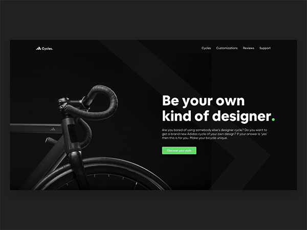 50 Modern Landing Page Design Concepts - 45