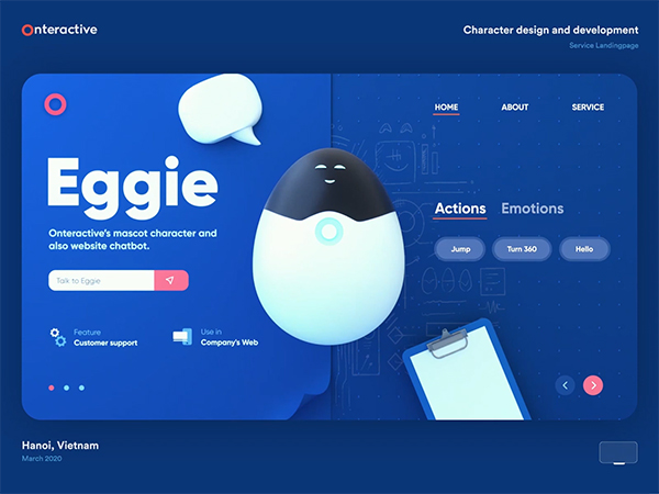 50 Modern Landing Page Design Concepts - 7