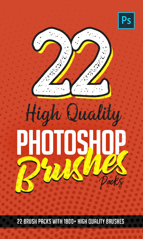 22 Best High Quality Photoshop Brushes