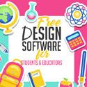 Post thumbnail of Free Design Software for Students & Educators