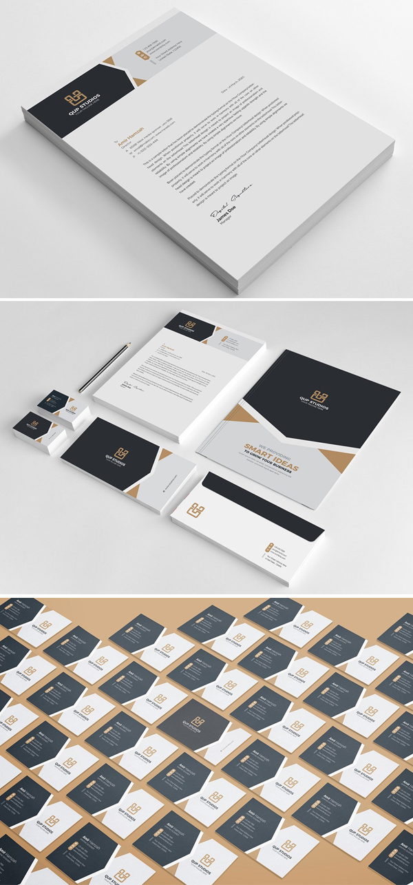 Balck & White Stationery Pack
