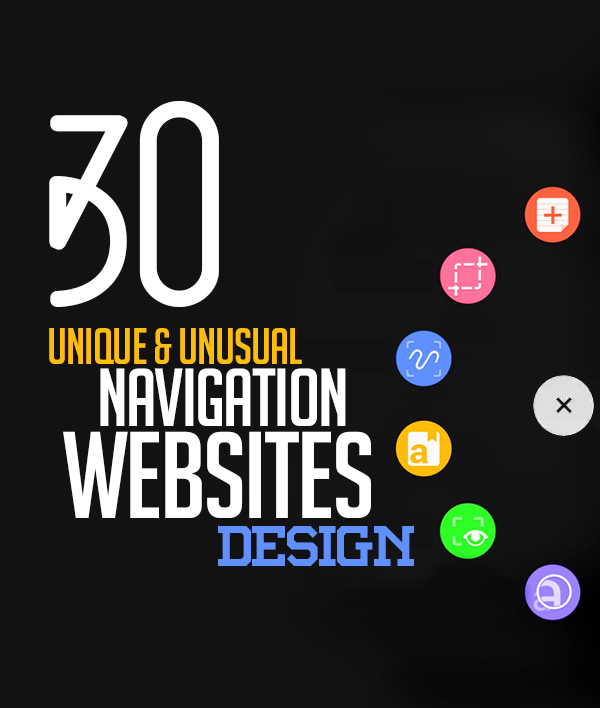 Unusual Navigation Websites Design – 30 Stylish Web Examples