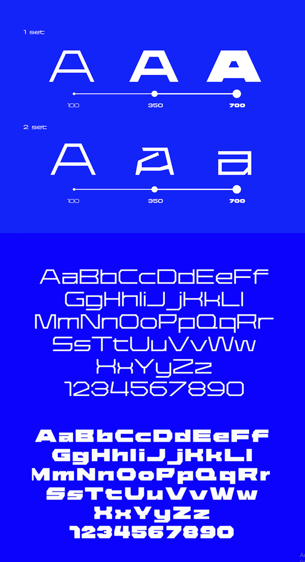 36DAYS Free Font Letters