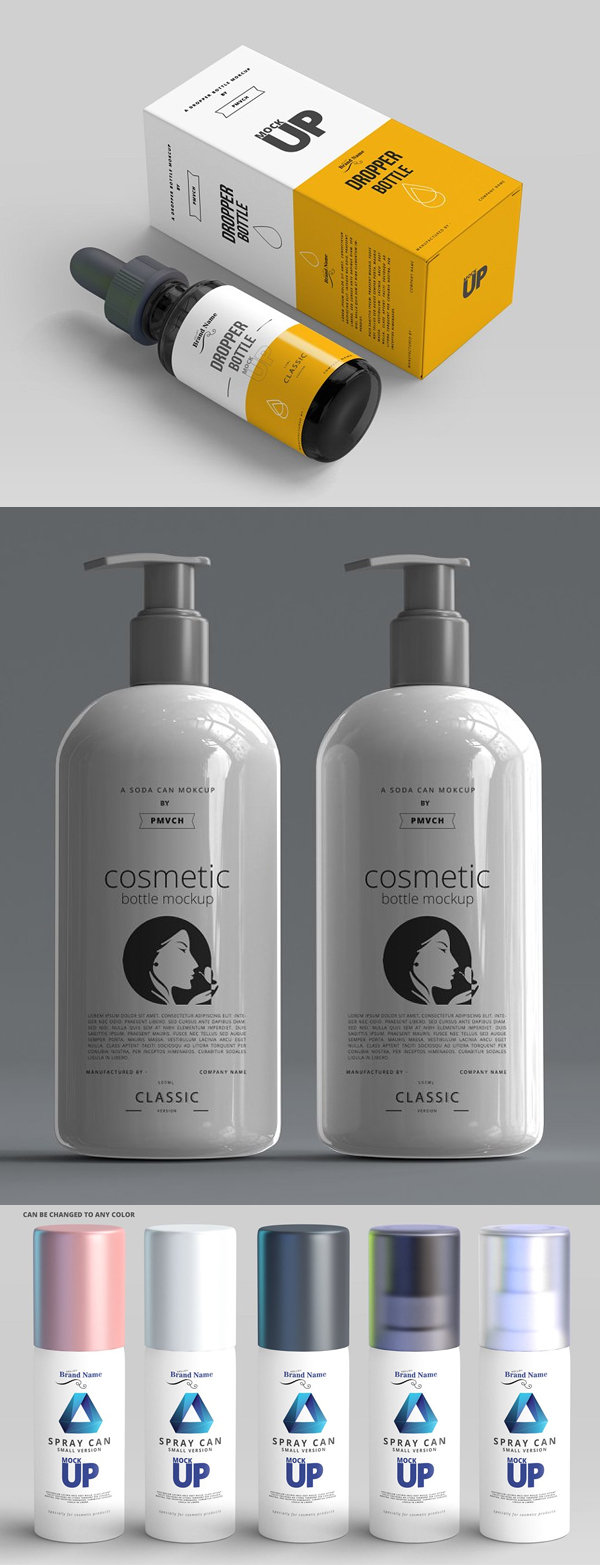 Cosmetics product model package