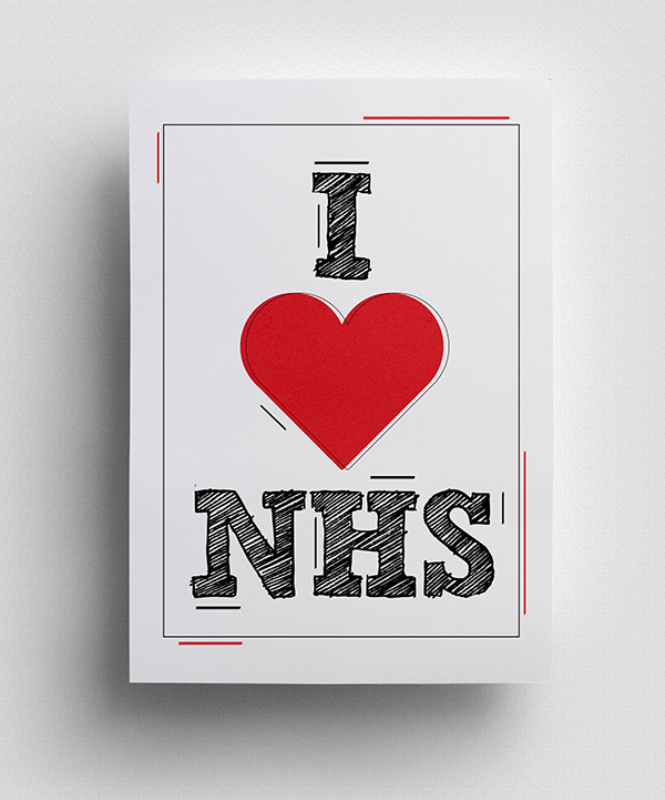 u0026 39 thank you u0026 39  to nhs  u2013 free colourful posters