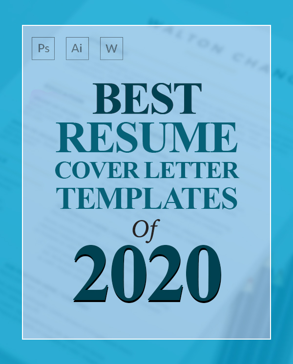 15 Best Resume & Cover Letter Templates Of 2020