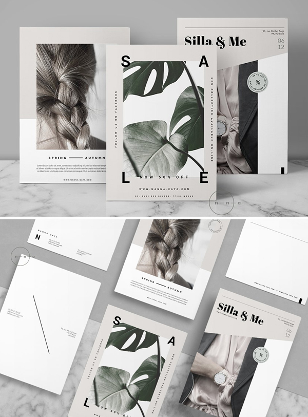 Lifestyle Postcard Flyers Template